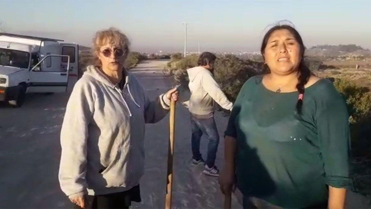 Abigail Carniel es buscada por sus padres en El Challao con la ayuda de una vidente