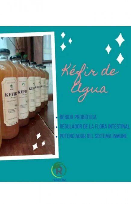 ANMAT prohibió la Bebida Probiótica Fermentada marca Kefir.