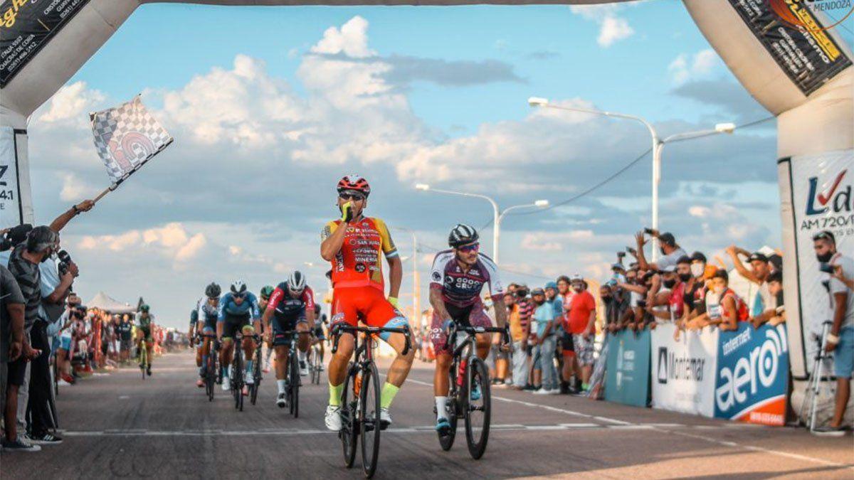 Se corre la primera etapa de la Vuelta de Mendoza