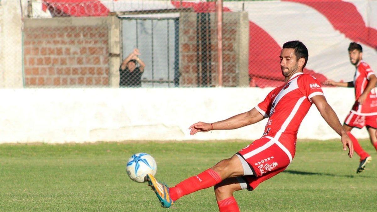El volante Ezequiel Riera está feliz. Foto: gentileza Deportivo Maipú.