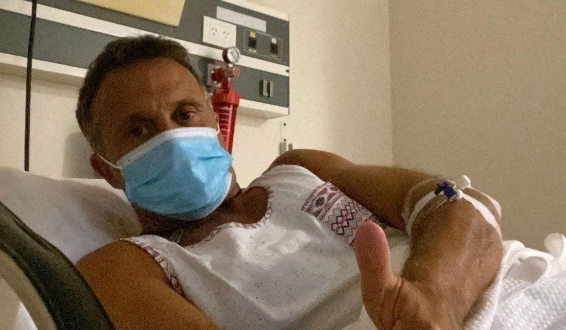 Sergio Lapegüe internado por coronavirus