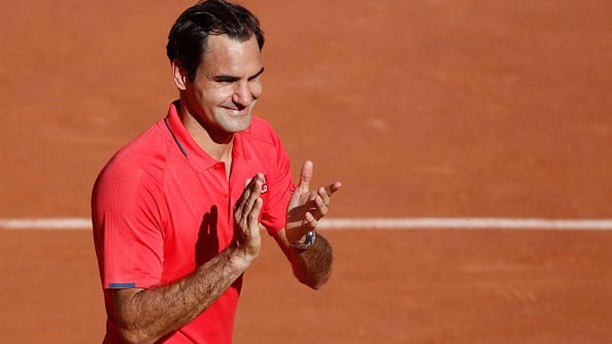 Federer y un drop shot viral que volvió locos a todos