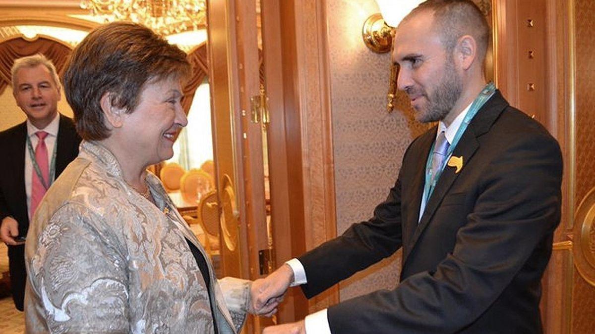 Martín Guzmán se volverá a entrevistar con la directora gerente del Fondo Monetario Internacional (FMI)