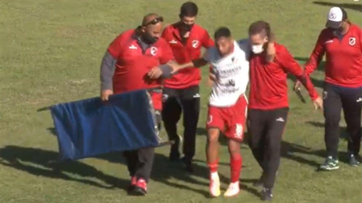 Lautaro Grosso se fracturó la tibia y será operado