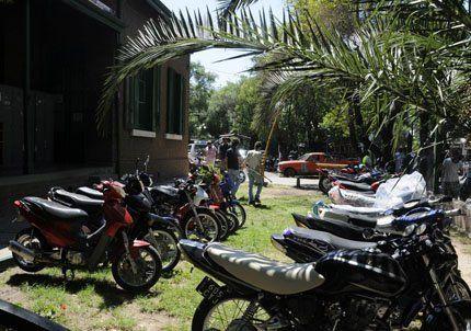 En 2009 Capital secuestró 5799 motos y 7631 automóviles