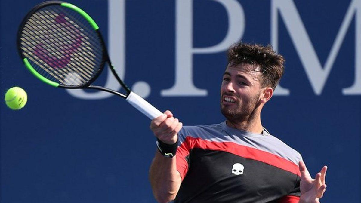 Juan Ignacio Lóndero dio una buena noticia para el tenis argentino en el US Open.