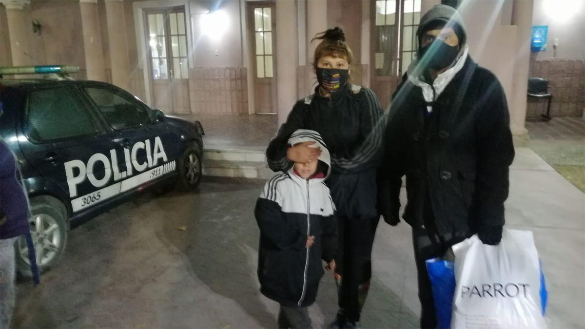 Impresionante operativo en Las Heras para encontrar a un nene de 7 años