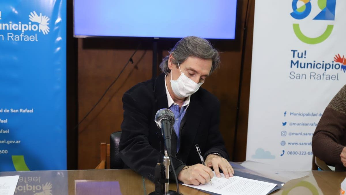 El intendente Emir Félix podría anunciar restricciones en San Rafael