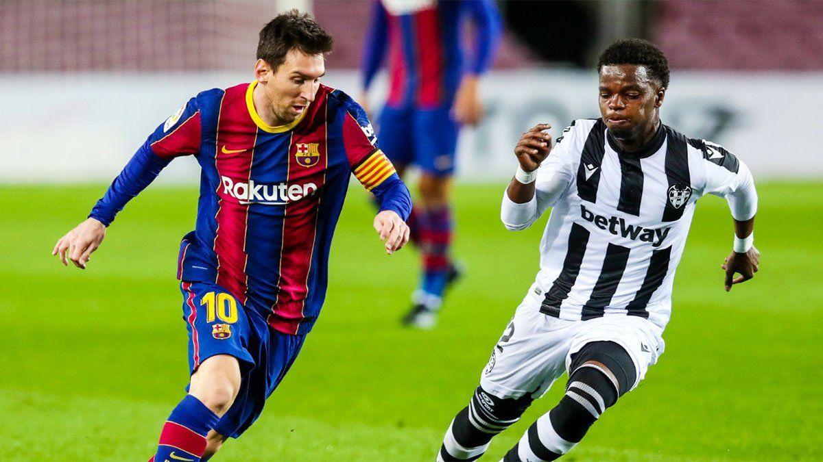 Barcelona, con Messi, vs. Alavés: hora, TV y formaciones