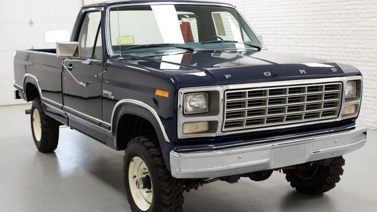La camioneta Ford modelo 1980 que está 0km.