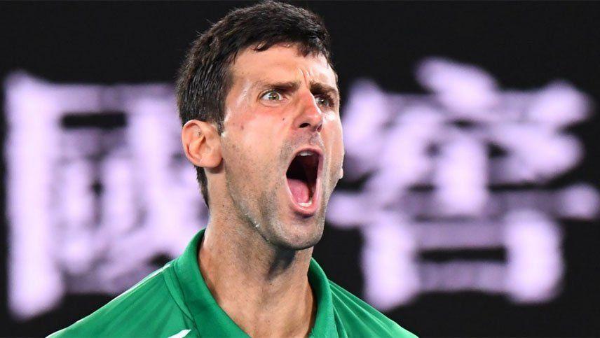 Novak Djokovic venció a Roger Federer y jugará su octava final en Australia
