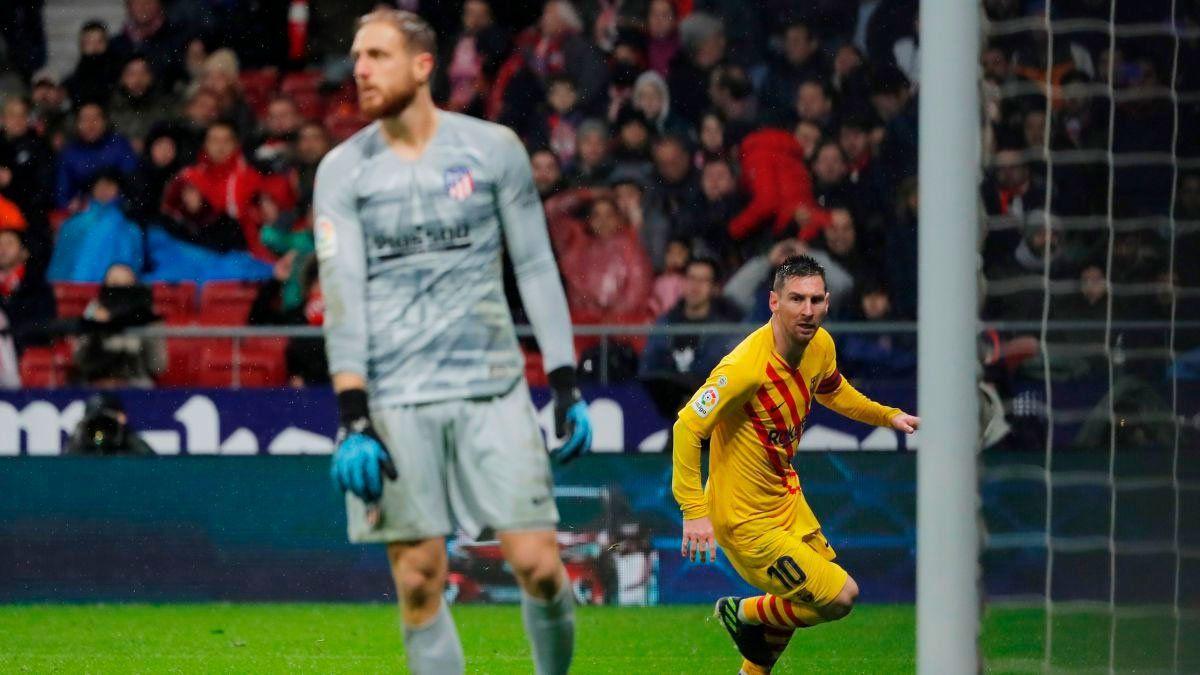 Messi reconoce que es una motivación extra marcarle a Oblak.
