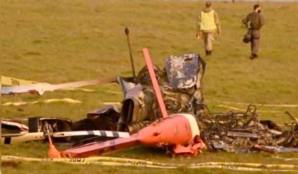 Un helicóptero uruguayo que llevaba vacunas se estrelló.