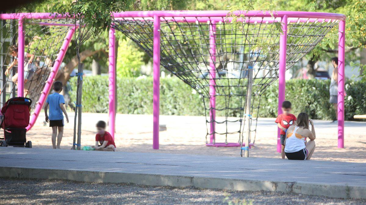 Espacio de juegos del Parque Central de Ciudad