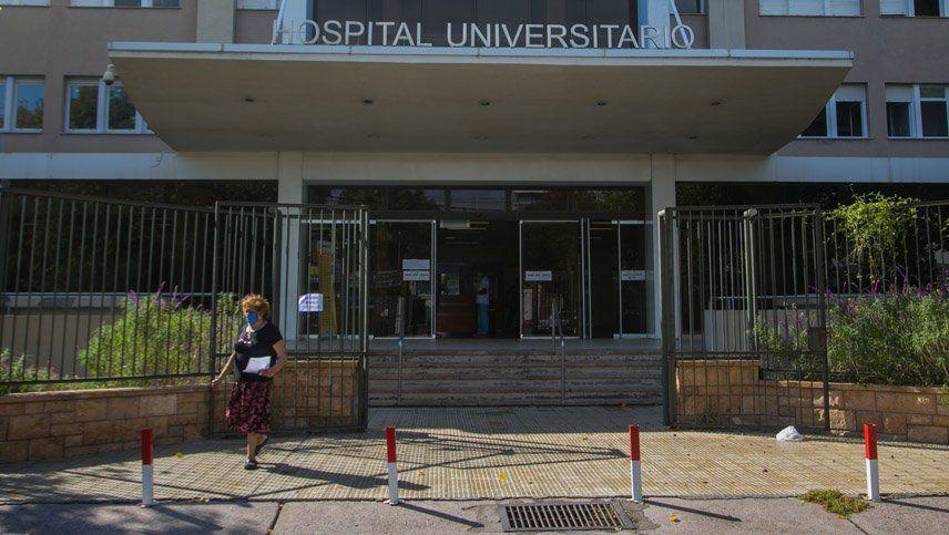 El Hospital Universitario  recibió los primeros cuatro pacientes con coronavirus