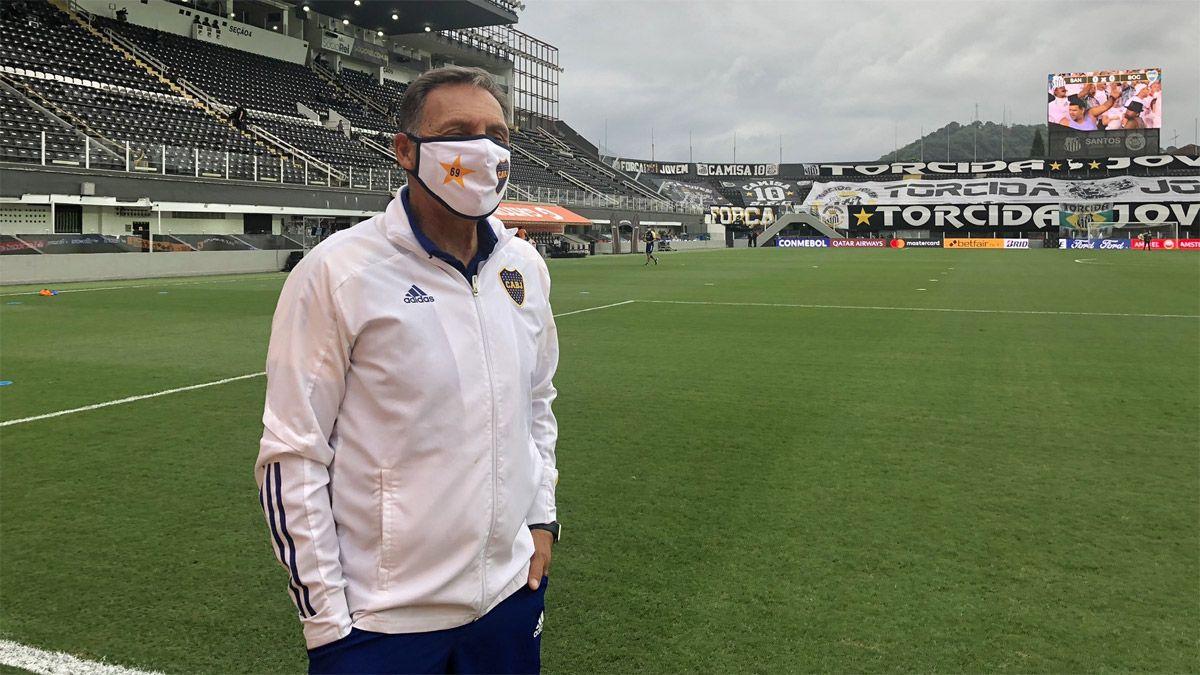 El dolor de Russo por la despedida de Boca