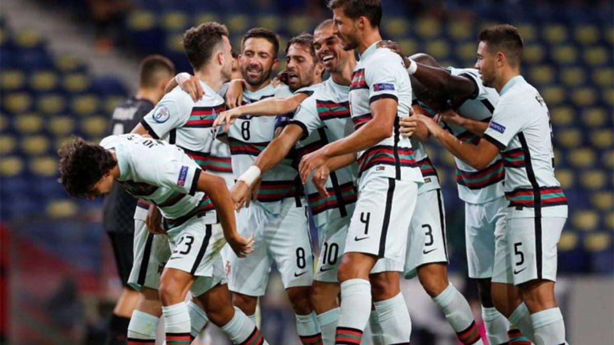 Portugal goleó a Croacia y a Cristiano Ronaldo lo retaron