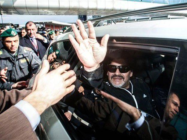 Montpellier descartó la contratación de Diego Maradona
