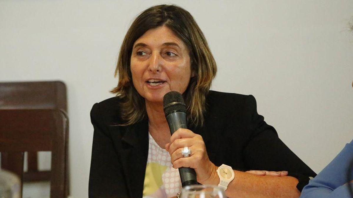 Silvina Furlotti Moretti, jueza civil y presidenta de la Asociación de Magistrados de Mendoza.