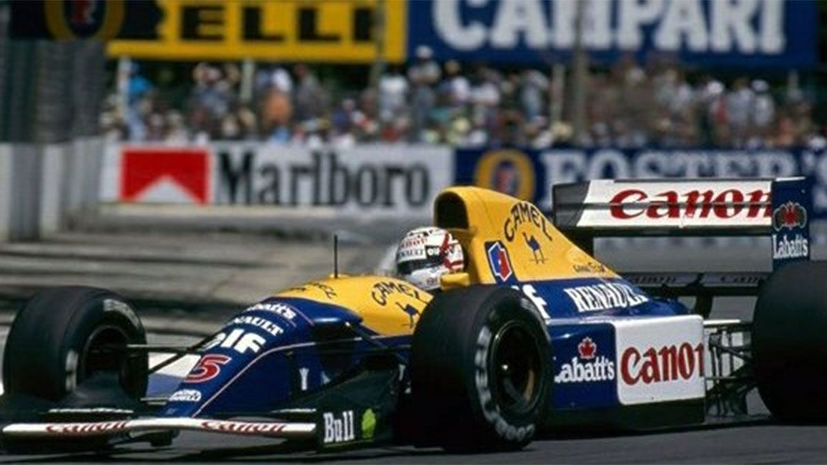 Este es el Williams que adquirió Sebastian Vettel.