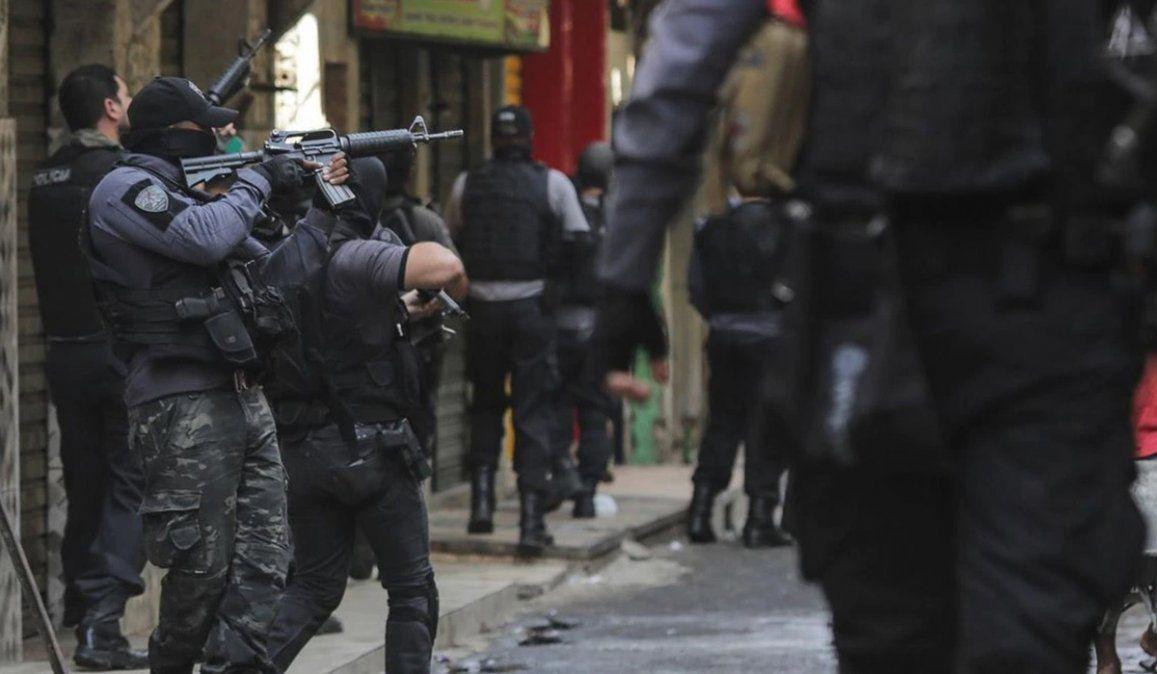 Mientras la Fiscalía Federal de Brasil pidió una investigación sobre el accionar policial