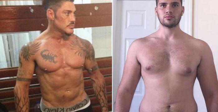 La impresionante transformación física de John Fort