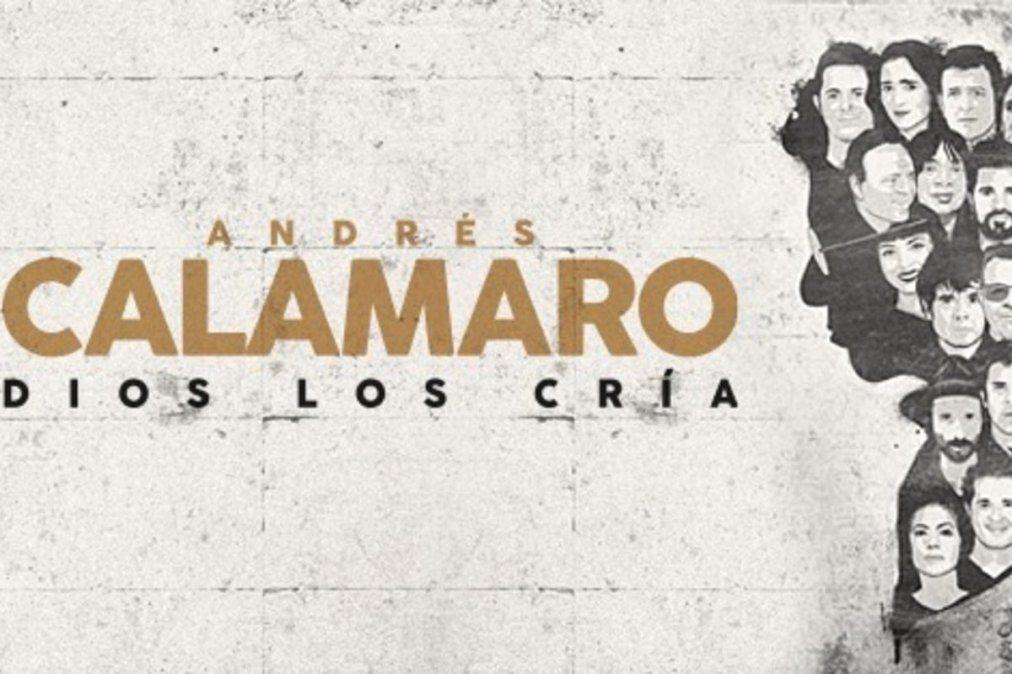 Dios los cría. Andrés Calamaro estrena disco y canta junto a Julio Iglesias y Raphael.