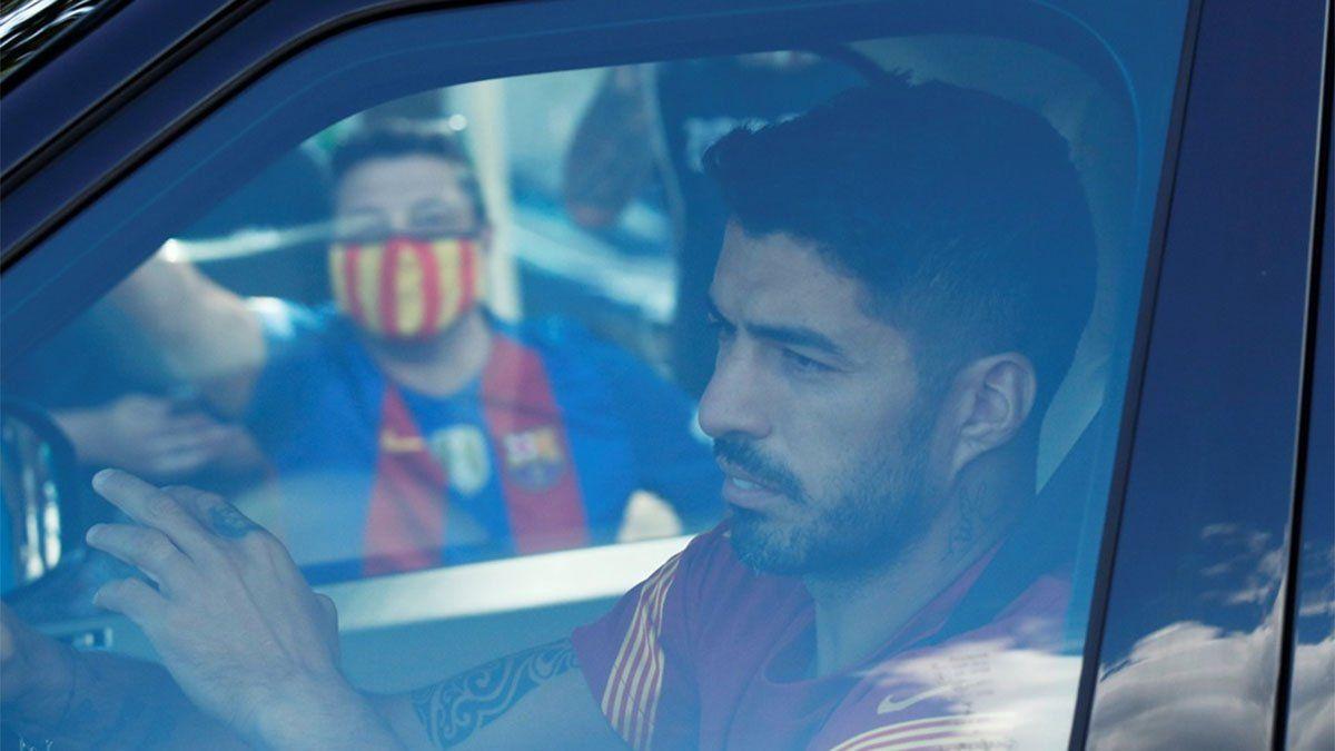 Luis Suárez desmintió que haya un acuerdo para ir a la Juve