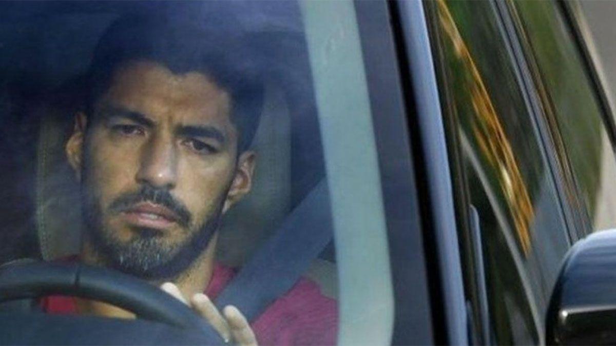 Luis Suárez se fue muy mal del Barcelona.