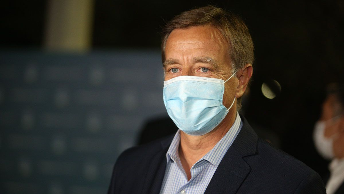 El gobernador Rodolfo Suarez se encuentra aislado tras el positivo de coronavirus de su hija de 16 años.