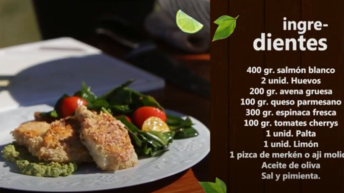 receta para hacer un rico salmon crocante con espinacas