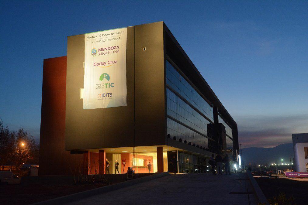 El Polo TIC ubicado en Godoy Cruz es uno de los puntos que se busca fortalecer para seguir desarrollando la Economía del Conocimiento.