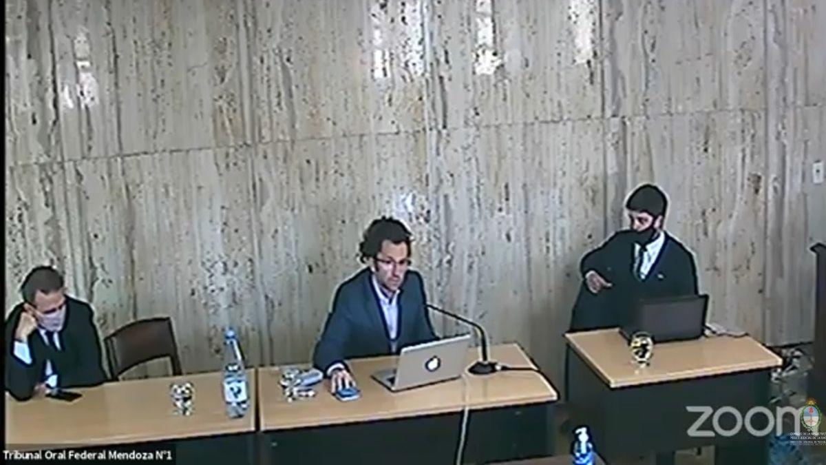 El fiscal Daniel Rodríguez Infante durante el juicio de lesa humanidad