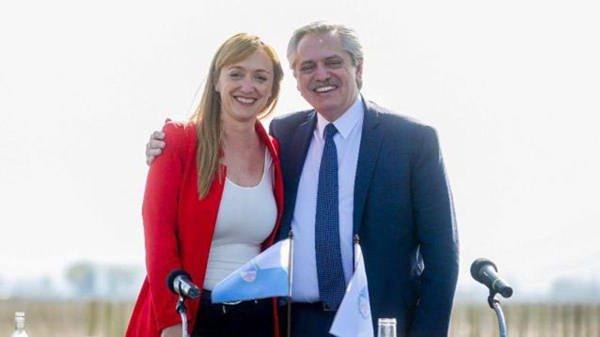 Alberto felicitó a Anabel, la nueva presidenta del PJ local
