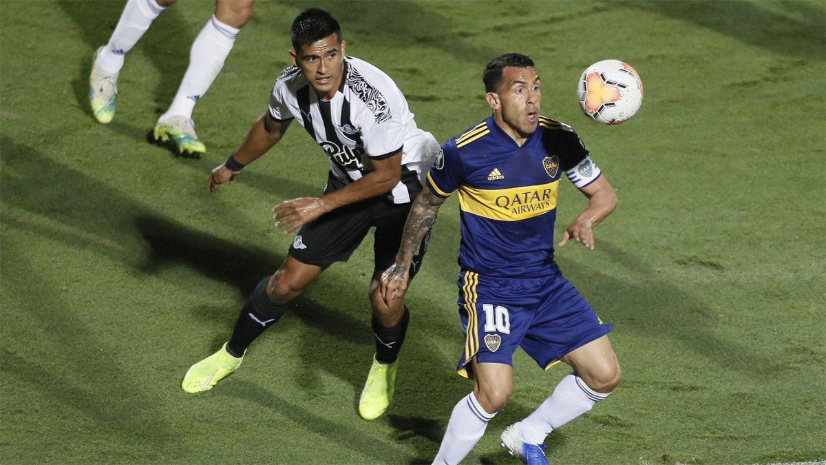 Boca Juniors venció a Libertad en Paraguay y lidera su grupo
