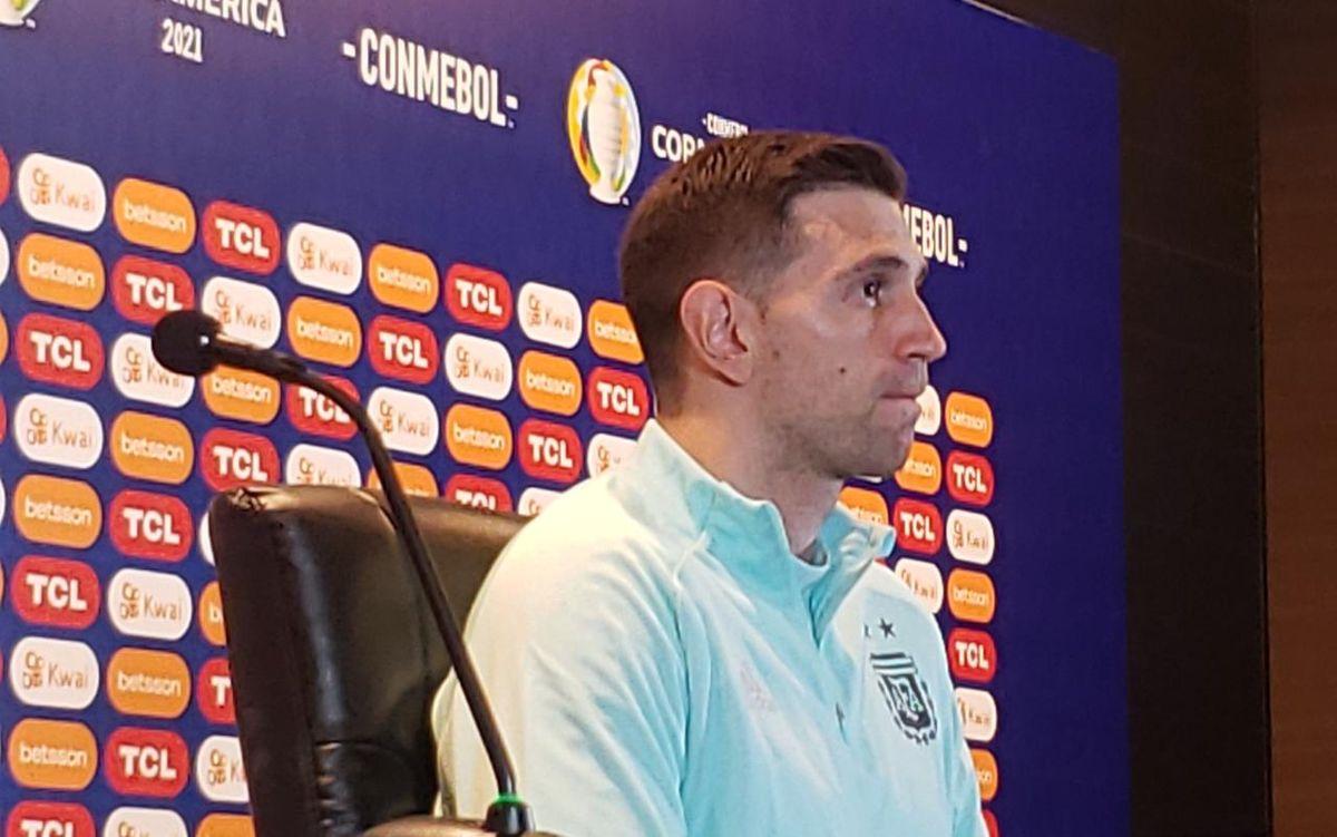 El Dibu Martínez será el arquero de la Selección Argentina en la final de la Copa América 2021.
