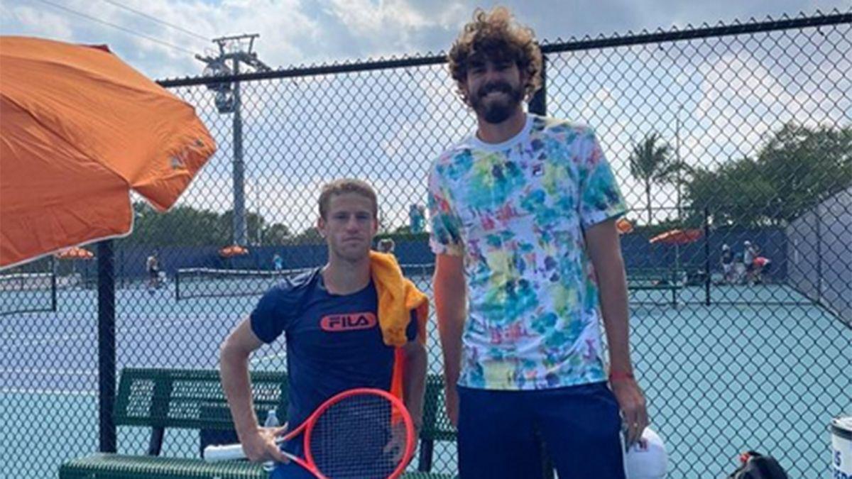 Schwartzman saldrá a la cancha en el Masters de Miami
