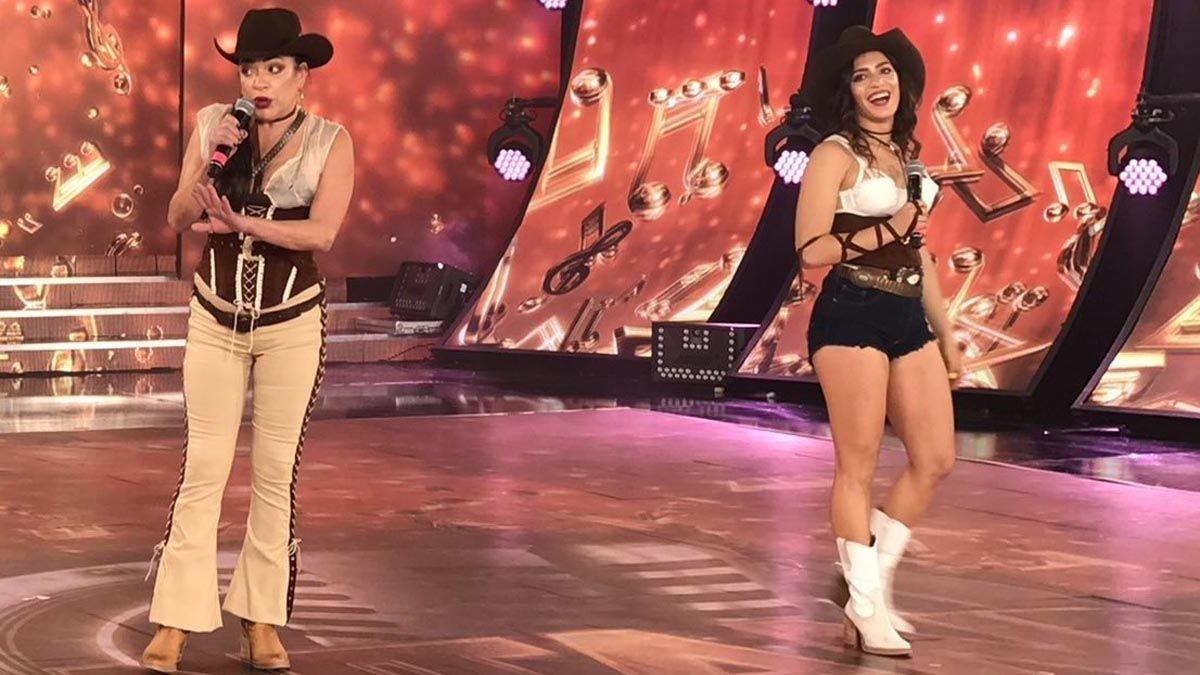 Claribel Medina y su hija Agustina Alarcón quedaron afuera del Cantando 2020.