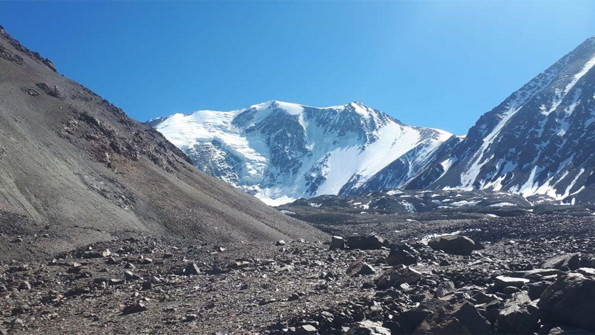 Pared Sur del Cerro El Plata