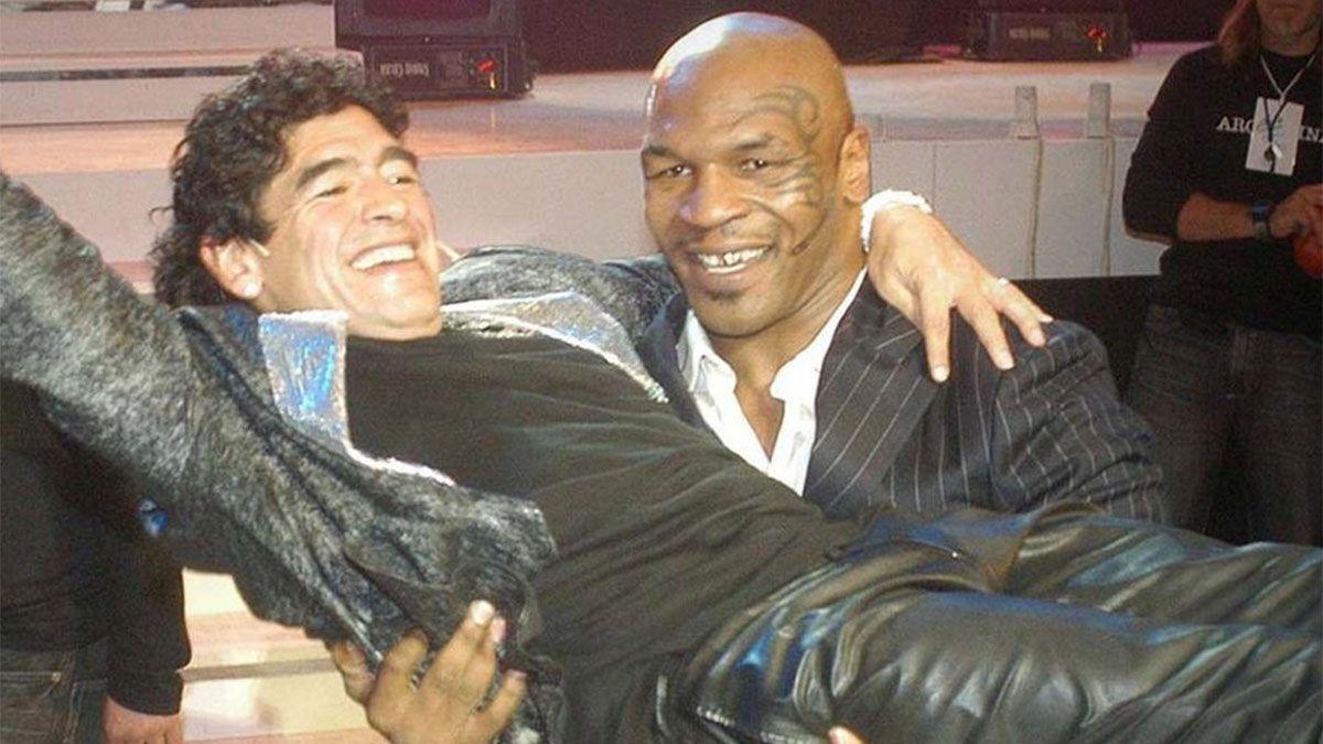 Mike Tyson y Nadia Comaneci: conmovedoras palabras para Maradona