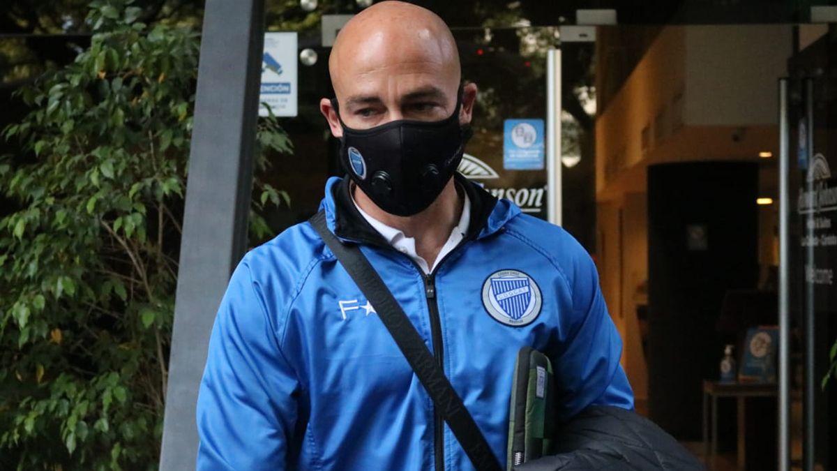 Sebastián Méndez se fue feliz por el pasaje a los octavos de final de la Copa Argentina.