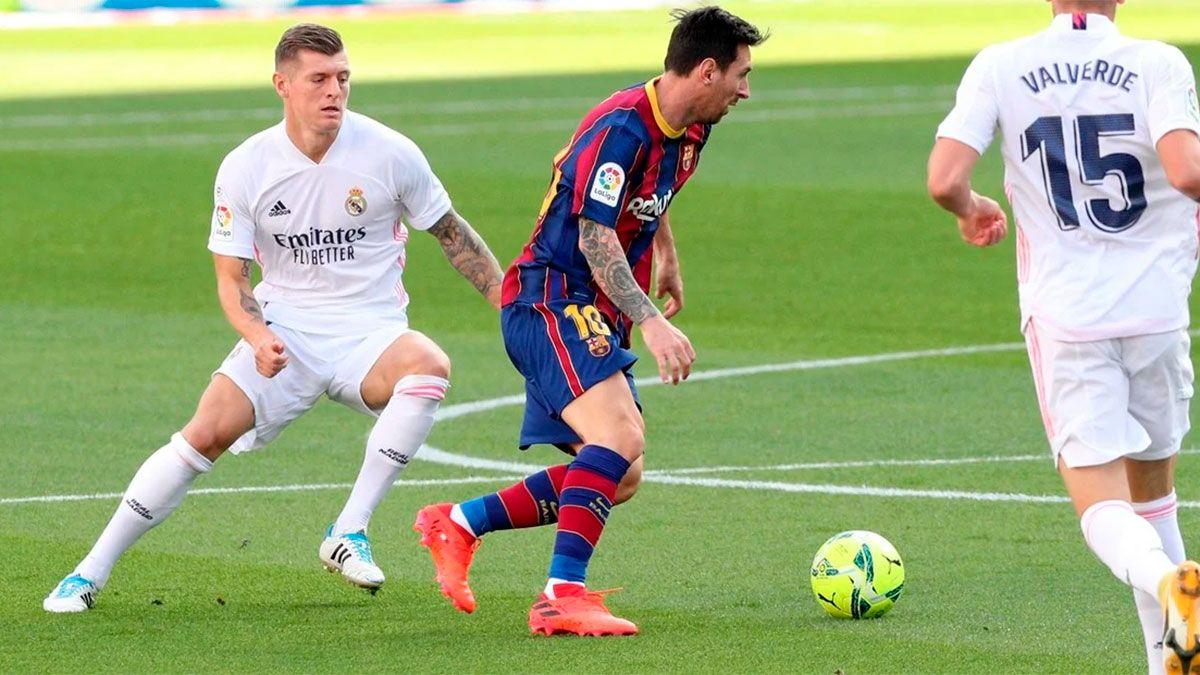 Real Madrid se quedó con el clásico ante el Barcelona