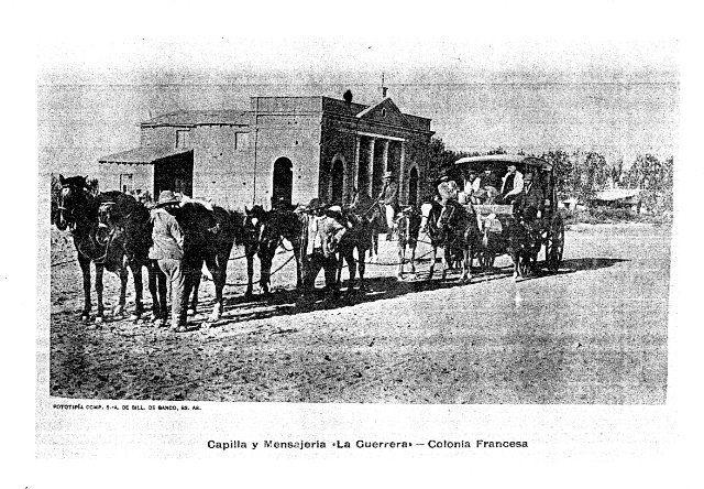 Historia: Los primeros correos del Sur
