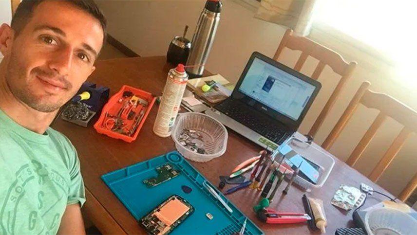Neri Espinosa y su otra pasión: la computación