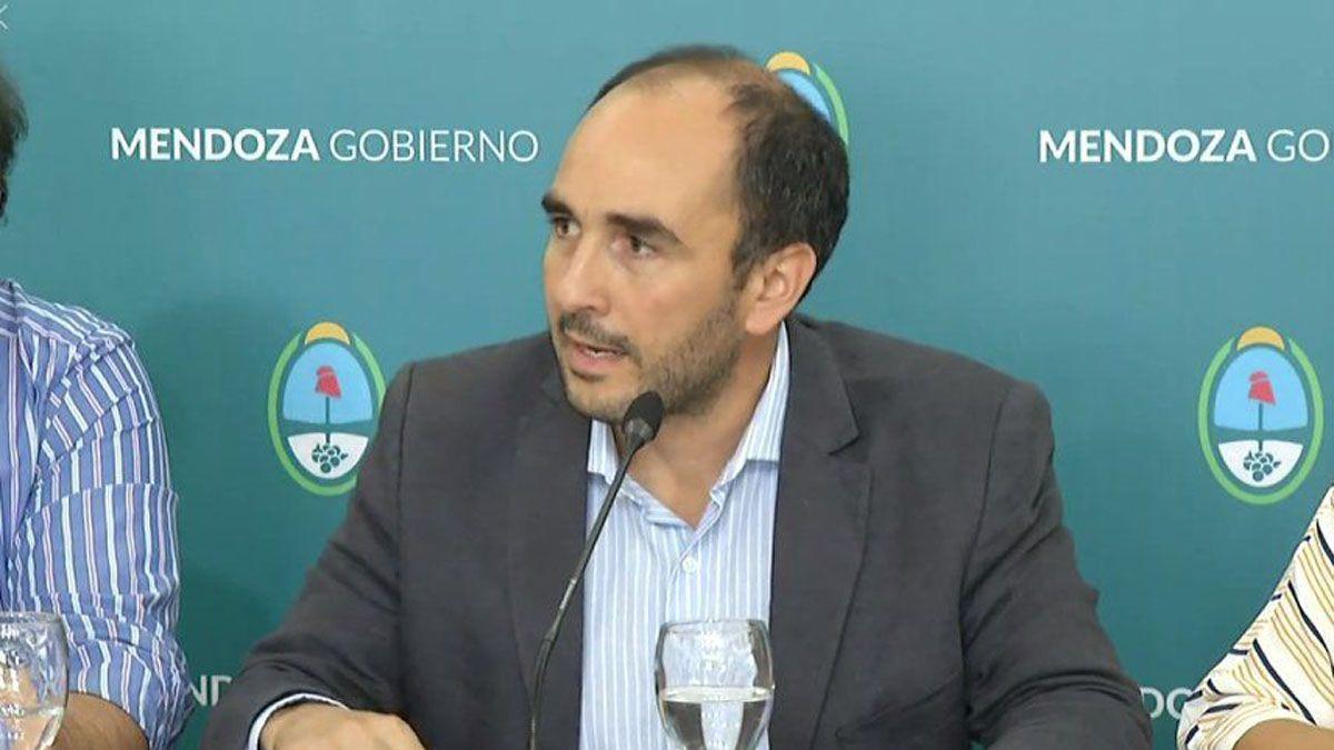 José Thomas, director general de Escuelas de Mendoza.