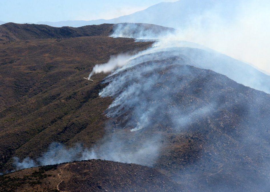 Los incendios forestales en el país son parte de la sequía