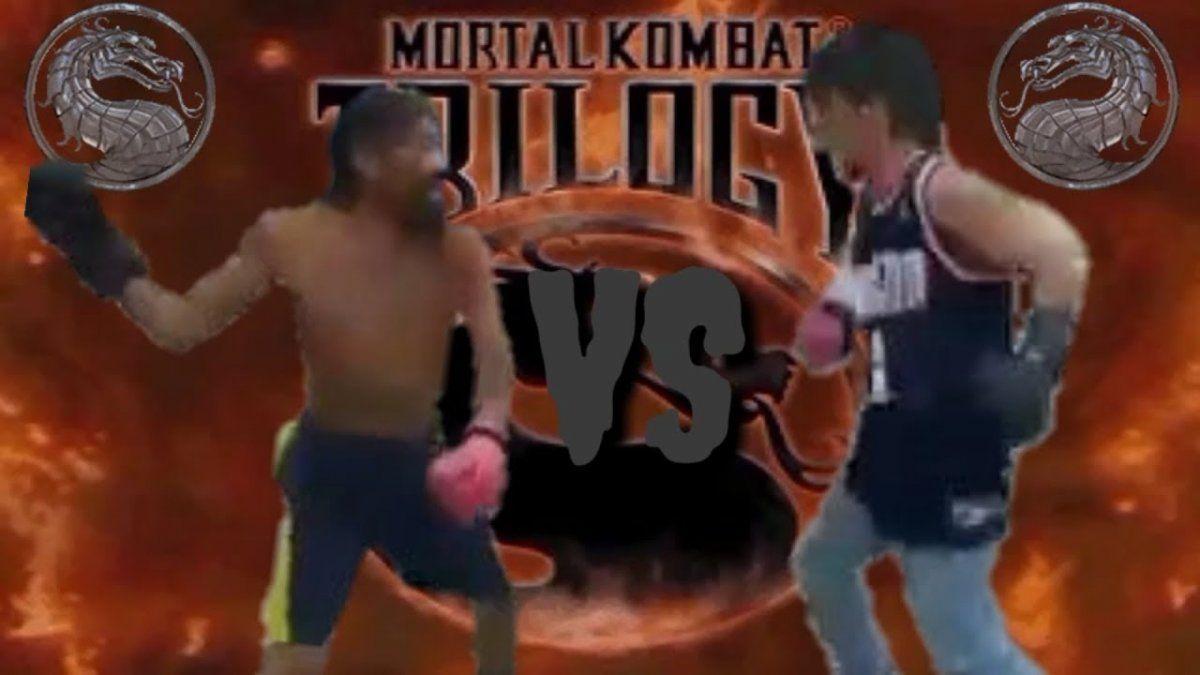 Video: la pelea callejera que tuvo un final inesperado.