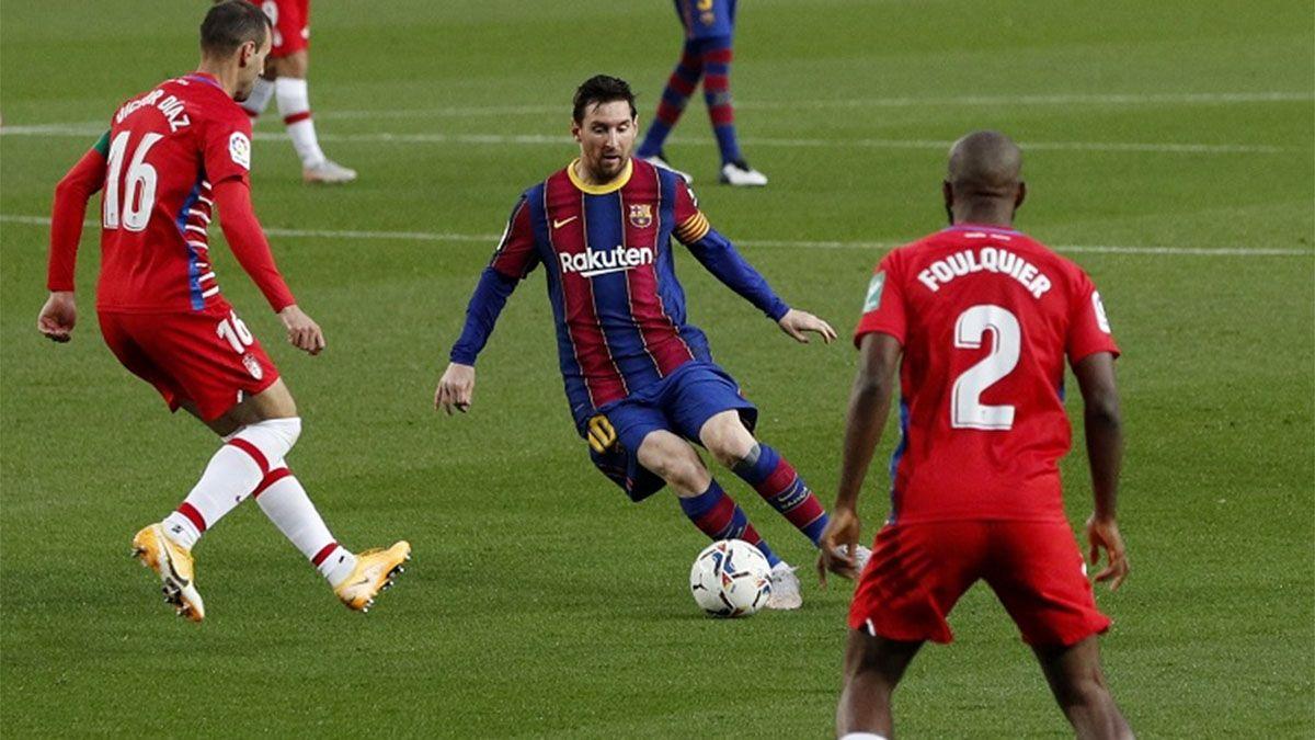 El Barcelona perdió y no pudo llegar a la cima en España