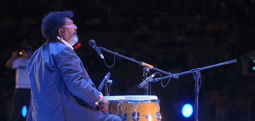 El uruguayo Rubén Rada fue la primera sorpresa en el Frank Romero Day