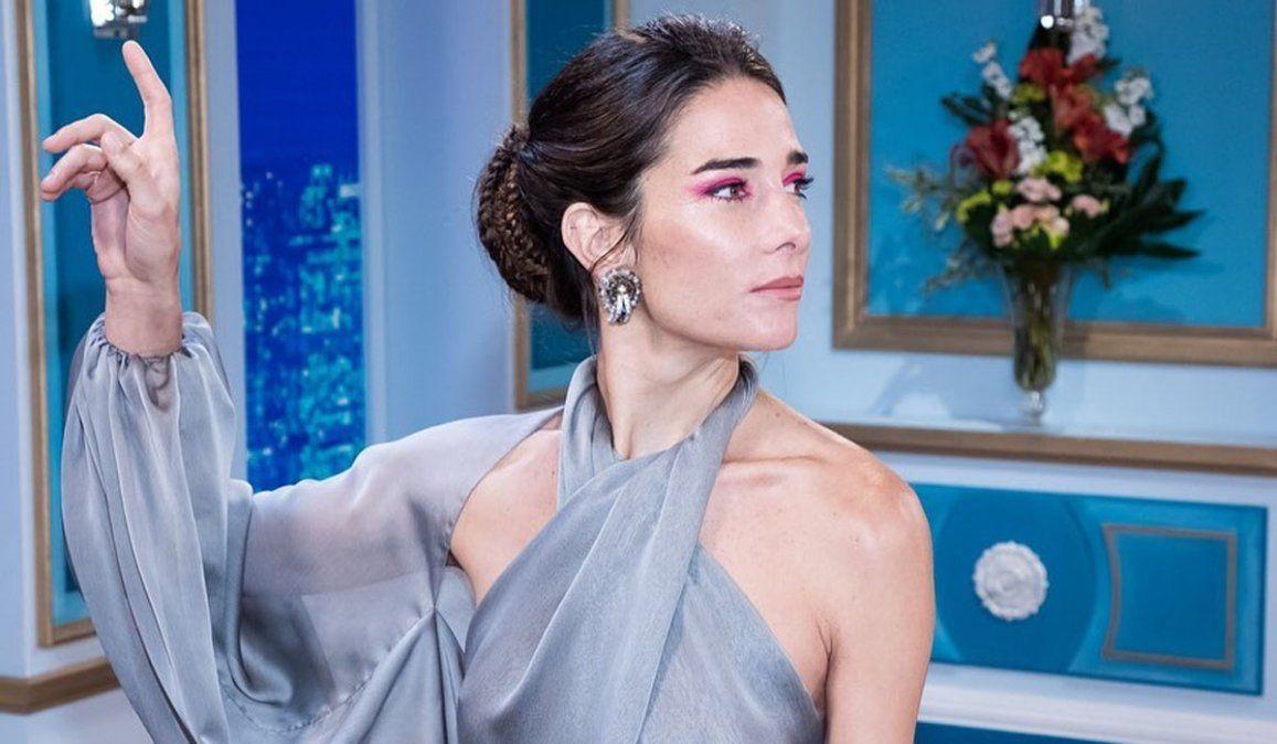 Juana Viale quiso homenajear a su abuela con el look pero... se le vio todo y fue criticada